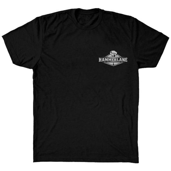Asphalt Cowboy Hammer Lane Trucker T-Shirt Front