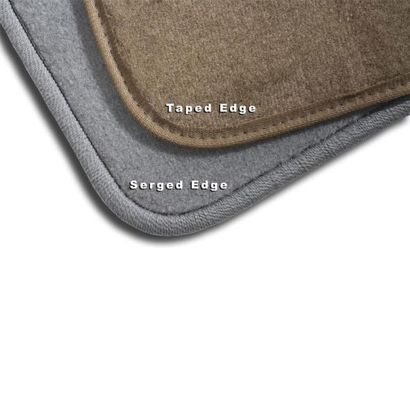 T600 T660 T800 & W900 TWO PIECE FRONT FLOOR MATS 2006+ Floor Mat Edges