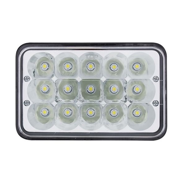 """High Power 15 LED 4"""" x 6"""" Rectangular Light"""