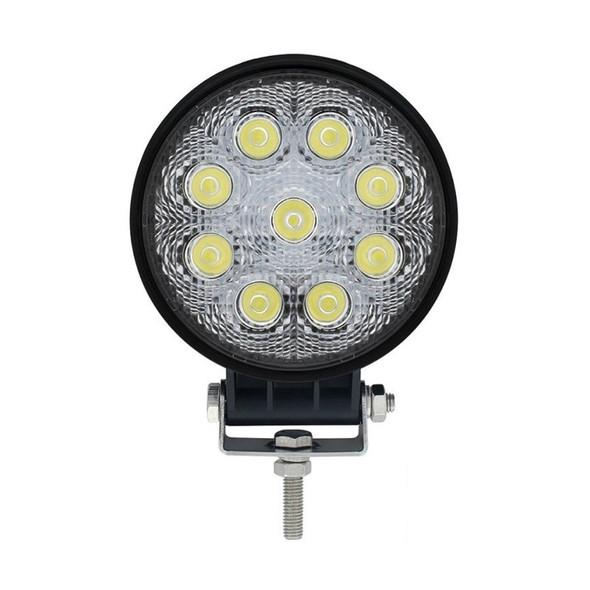 High Power 9 LED Round Work Light