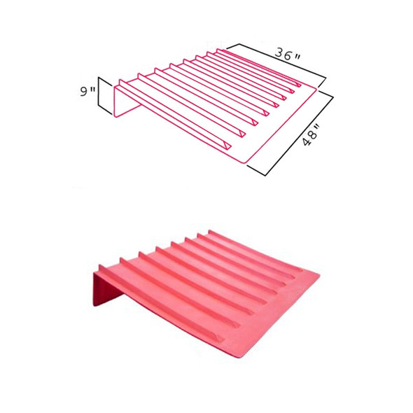 VeeBoards Heavy Duty Brick Guard Dimensions
