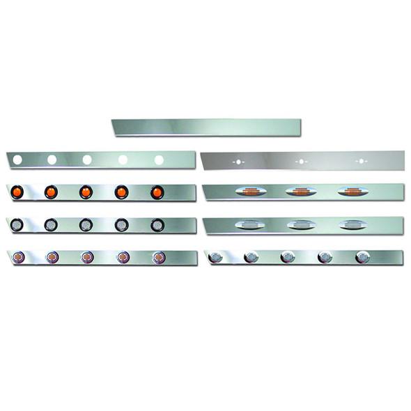 Peterbilt 379 Stainless Steel Cab Panels