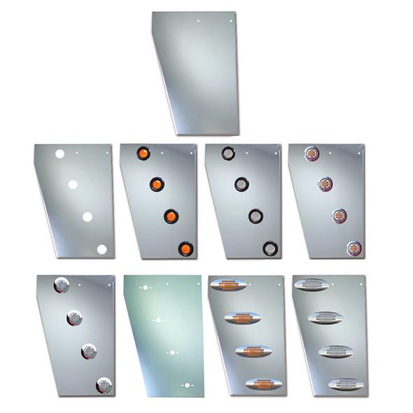 Peterbilt 379 Stainless Steel Wide Cowl Panels