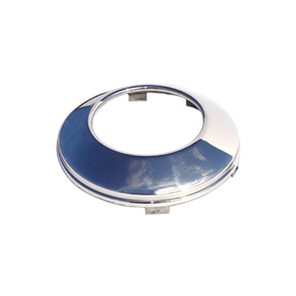 Stainless Steel Front Baby Moon Axle Cover With Cut-Out Center