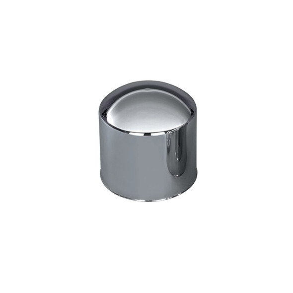 """Stainless Steel 10"""" Tall Rear High Hat Axle Cover"""