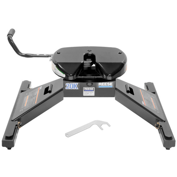 Reese 20K Fifth Wheel Drop-In For Dodge Ram 2500 3500 HD With OE Rail System 30160 Front View