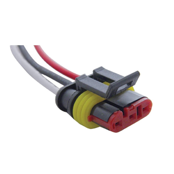 3 Wire Molded Plug Enlarged