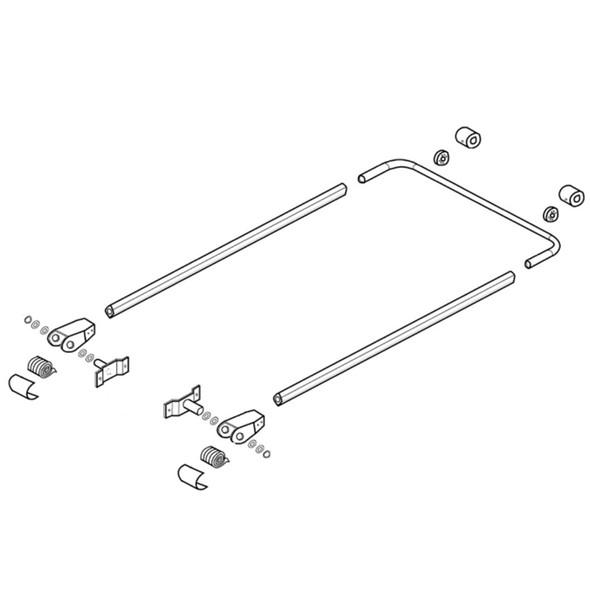 Premium Front To Back External Aluminum Tarp Mount System