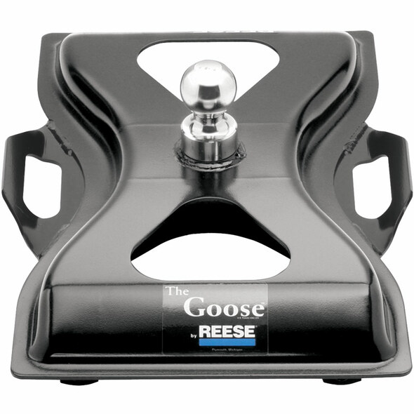 Reese The Goose Gooseneck Hitch Plate 58079 Front View