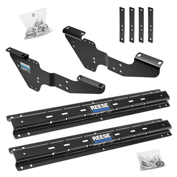 Reese Outboard Fifth Wheel Custom Quick Install Rail Kit