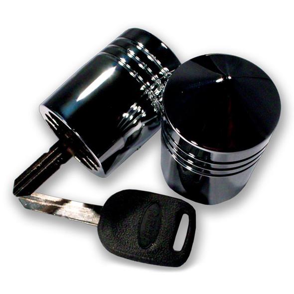 Chrome Aluminum Key Cover For Peterbilt Keys