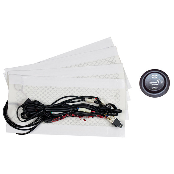 Single Seat Heater With Illuminated 3 Position Switch