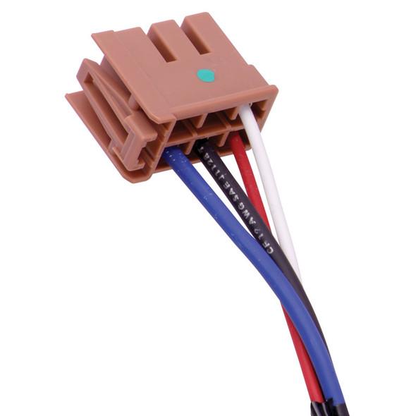 Tekonsha 2 Plug Brake Control Wiring Adapter GM 3025-P End