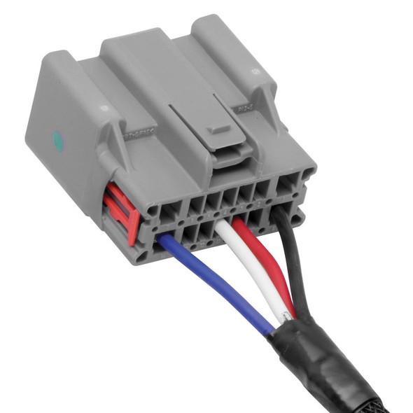 Tekonsha 2 Plug Brake Control Wiring Adapter Ford 3034-P End