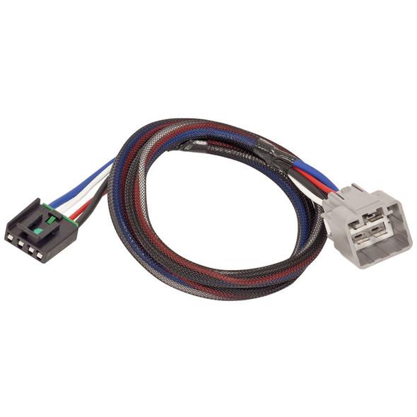 Tekonsha 2 Plug Brake Control Wiring Adapter Dodge & RAM 3021-P