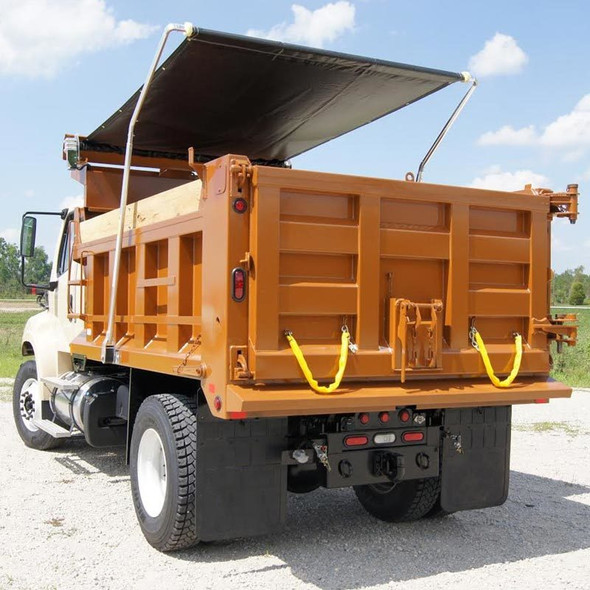 Standard Front To Back Truck Tarp Two Pocket