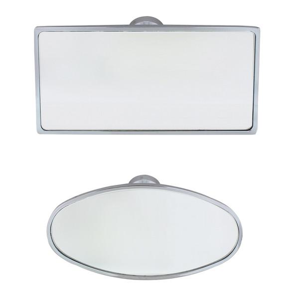 Chrome Interior Rear View Mirrors