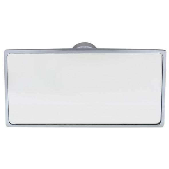 Chrome Interior Rear View Mirror Rectangular