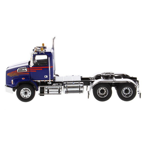 Western Star 4700 Set Forward Axle Tandem Day Cab 1/50 Scale - Driver Side View