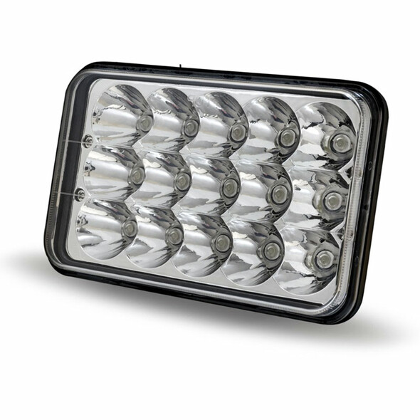 "6"" x 4"" LED Rectangular High Intensity Headlight"