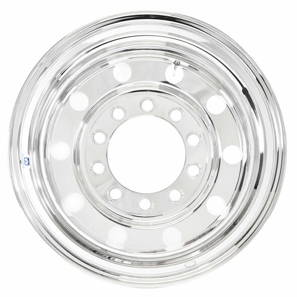 "24.5"" x 8.25"" Alcoa Aluminum Budd Wheel Back"