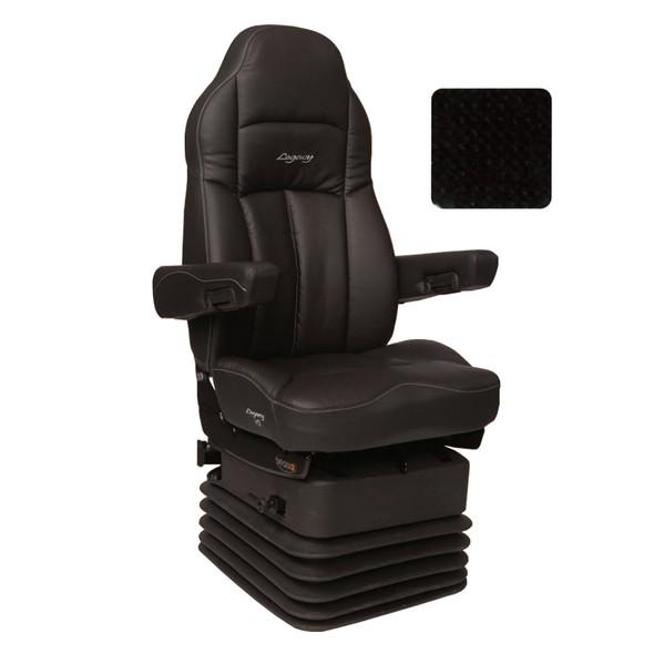 Legacy HD Tuff-Cloth Highback Truck Seat Black