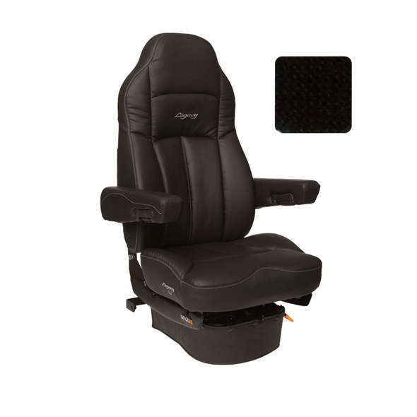 Legacy LO Tuff-Cloth Highback Truck Seat Black
