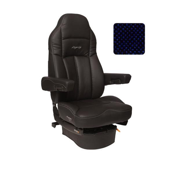 Legacy LO Tuff-Cloth Highback Truck Seat Blue