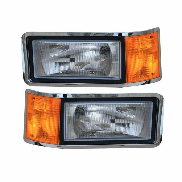Mack CH600 CH612 CH613 Headlight Assembly