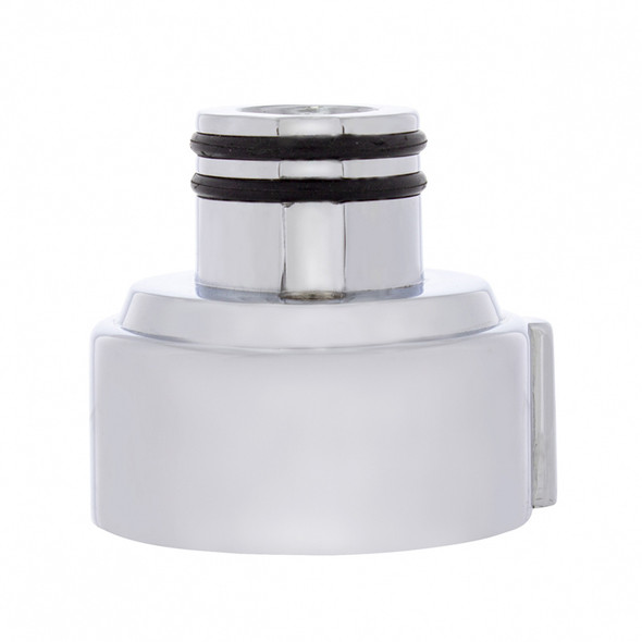 Chrome 9 Speed Vertical LED Gearshift Mounting Adapter Side View