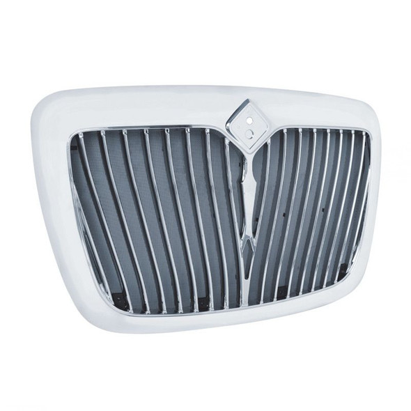 International Prostar Chrome Grill With Bug Screen Included