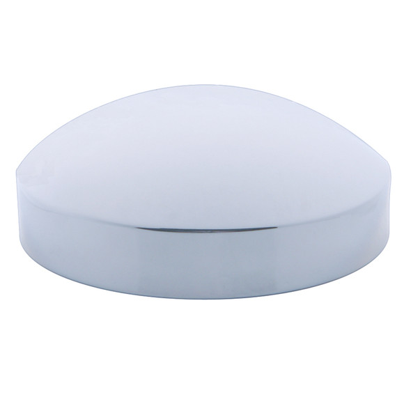 "Chrome 8"" ID Rear Hub Cap Dome Style"