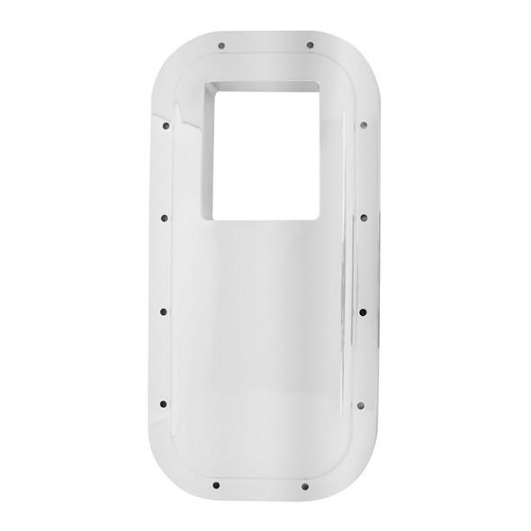 Peterbilt Chrome Plastic Gear Shift Trim Plate