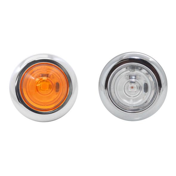 Peterbilt 379 388 Cab Panel For Car Haulers Amber Clear LEDs