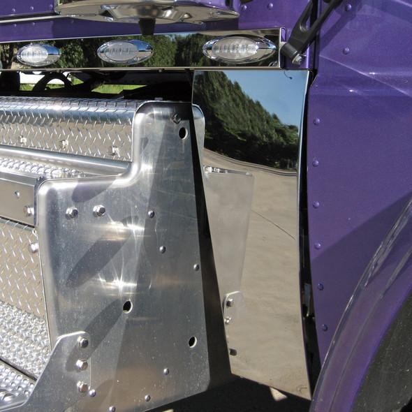 Peterbilt 388 Standard Hood Blank Cowl Panels