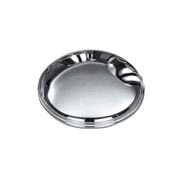 Stainless Steel Front Baby Moon Hub Cover For GMC And Chevy Trucks