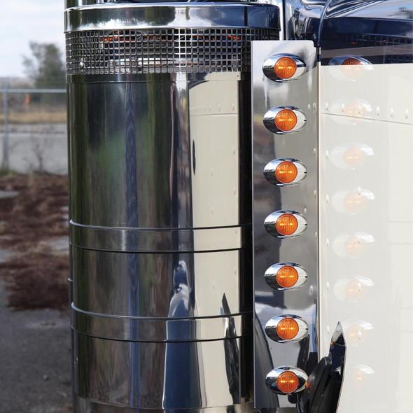 "24.5"" Peterbilt Front Air Cleaner Light Bar By Roadworks"