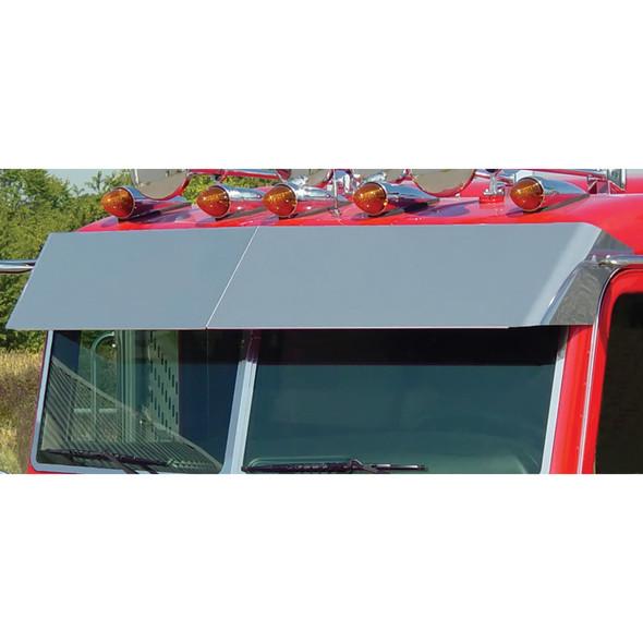 Peterbilt 388 389 Pride & Class Multi Fit Blind Mount Visor By Roadworks