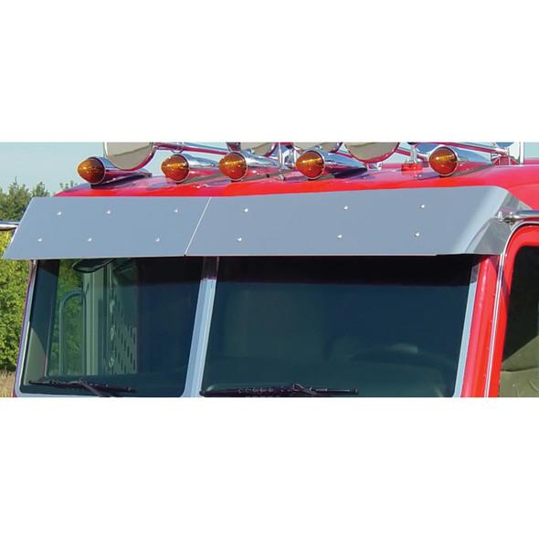 Peterbilt 388 389 Pride & Class Flat Top Bow-Tie Visor By Roadworks