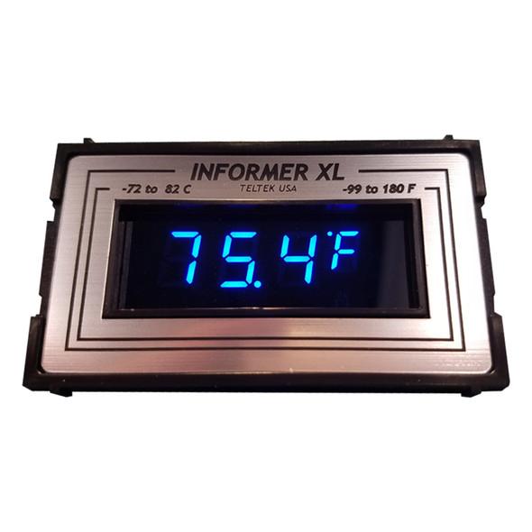 Informer XL Thermometer TELTEK Gauge - Blue