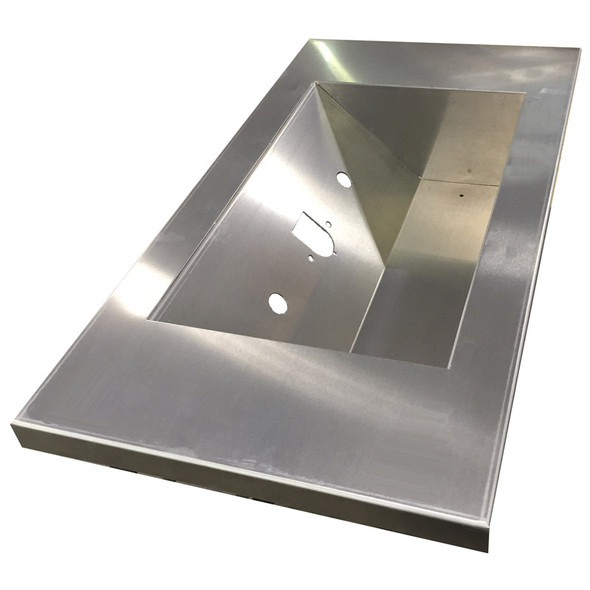 Custom Recessed Sectional Deck Plate By Iowa Customs Airline Box Option