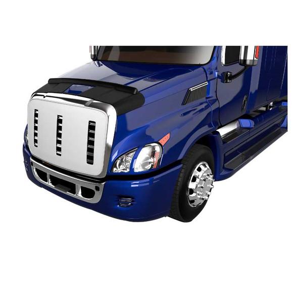 International ProStar Hood Aeroskin II On Purple Truck