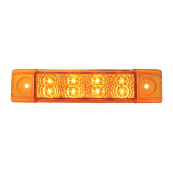 Spyder Rectangular Dual Function Clearance Marker LED Trailer Light - Amber