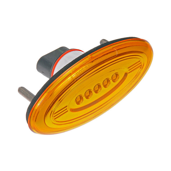 Peterbilt 386 OEM Style Front Marker Light - Angle View