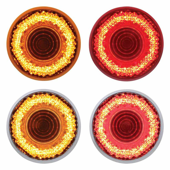 """2"""" Round Mirage LED Clearance Marker Light - Styles"""