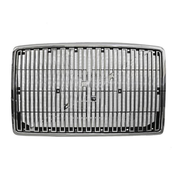 Volvo VN VNL Grill Replacement 1996-2003 - Chrome With Bug Screen