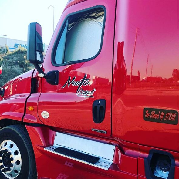 Universal Semi Truck Window Cover Driver Outside View