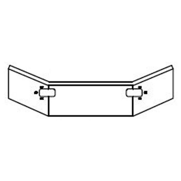 Mack CL Chrome Bumper 1994-2003 - Drawing