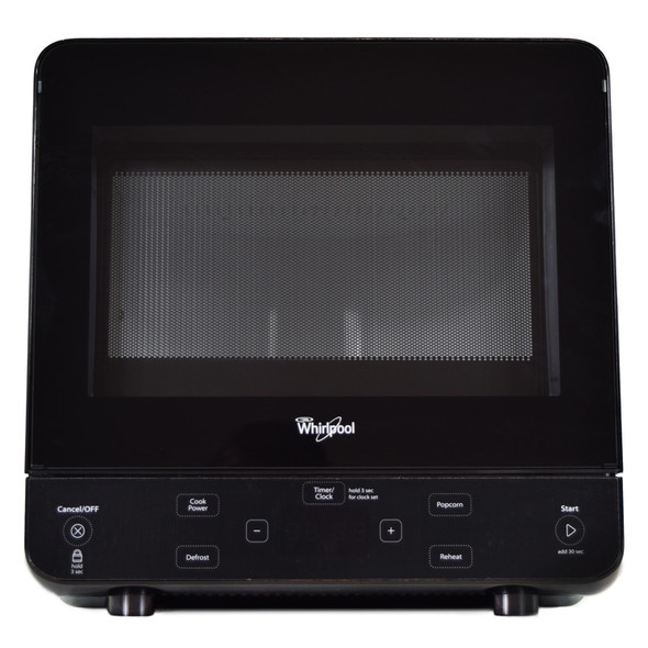 Whirlpool Black Countertop Microwave Oven Front