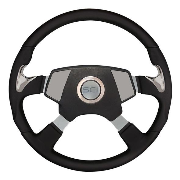 """18"""" Highway Steering Wheel With Smart Gen 2 Center Pad"""